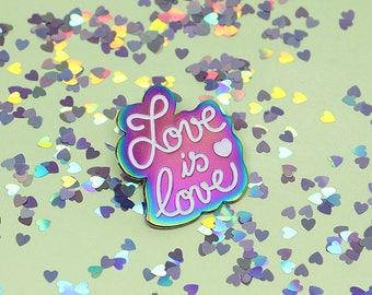 Love is Love - Valentine's Day pin