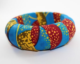 African print Bangles/Bracelets - Handmade