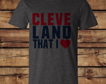 Cleveland That I Love Tee
