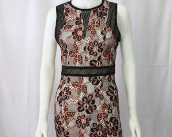 Dress Sleeveless Lace  (Petite)