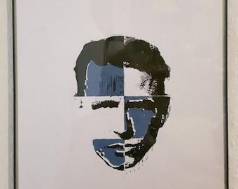 Otto Dix sieve/linocut