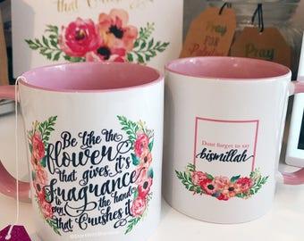 Be like the flower - Mug