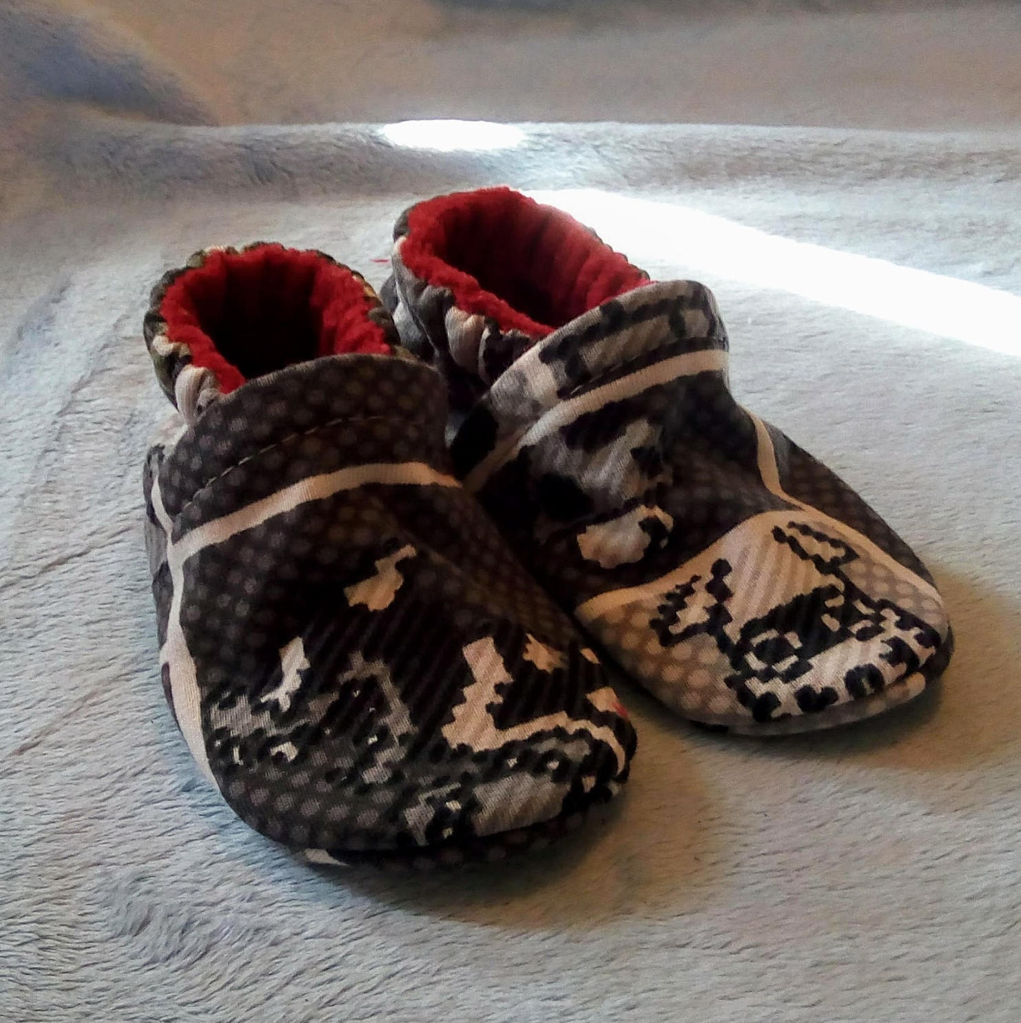Super Mario Bros: Soft Sole Baby Shoes 3-6M
