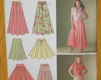 Simplicity Misses Skirt Pattern 4188 Sizes 8-16