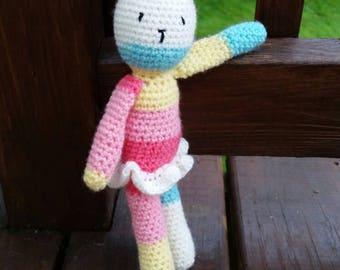 Crochet Bunny, Amigurumi Bunny, Bunny Plush, Stuffed Bunny, Cute Bunny Toy, Handmade Stuffed Animal, Crochet Stuffed Animal