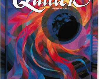 Vintage American Quilter Magazine Fall 1989