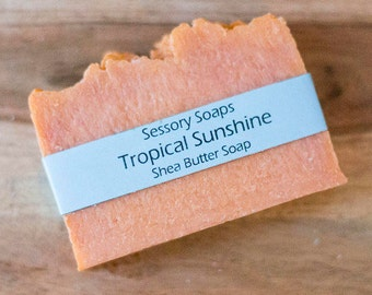 Tropical Sunshine Shea Butter Soap