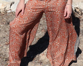 Bell Bottom Pants,Festival Hippie Faerie Pants,Wide Leg Trousers,Womens Pants,Aladdin Pants,Elven Clothing,Hippie Trousers,Afghani Pants