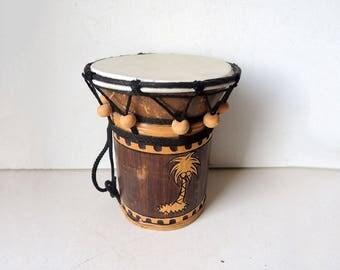 Indonesian Bamboo Drum
