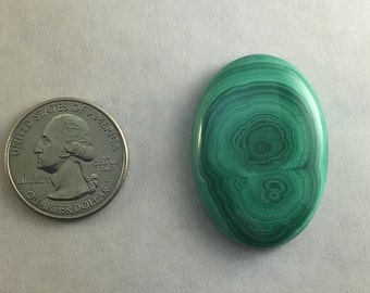 Large AAA Quality Malachite approx. 38mm x 27mm