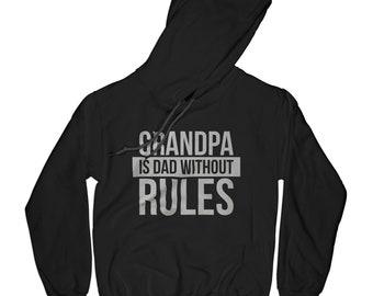 Grandpa hoodie baby announcement hoodie cool grandpa hoodie baby gender reveal party grandpa rules  hipster grandpa hoodie      APV21