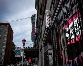Photo taken in Chinatown Seattle-Giclee Print/Photography