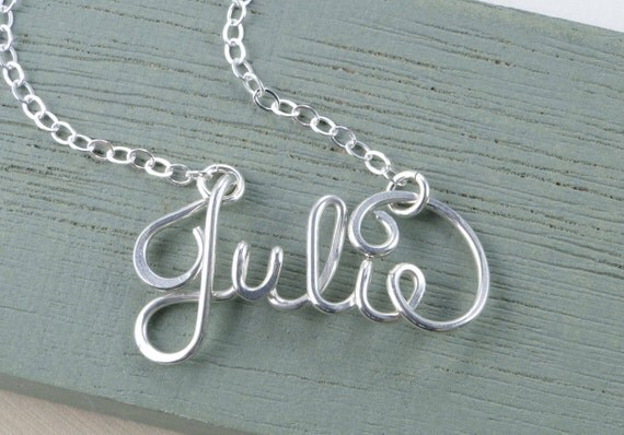 Dainty Name Necklace, Personalized Name Necklace, Name Necklace, Custom Name Necklace,  Birthday Gift, Silver Name, Gold Name Necklace