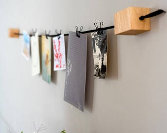 Polaroid Picture Display, Wall Photo Holder, Photo Clip String, Photo Hanger, Hanging Wall Art, Memo Hanging, Wedding Photo Display, Gifts