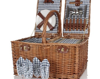 Four Person Luxury Picnic Basket Hamper