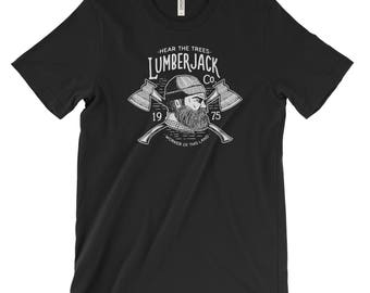 LumberJack National Park Adventure Unisex Bella Canvas Tshirt