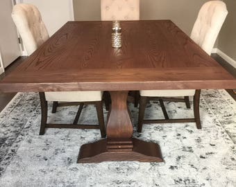 Pedestal Dining Table - The Glover