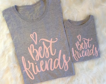 Mommy & Me shirts, mommy and me tshirts, best friend tees, best friend T-shirt, mama baby shirts, matching shirts, mom daughter shirts