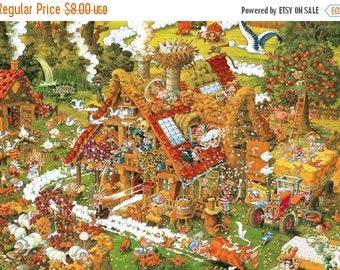 Funnyfarm Cross Stitch Pattern Pdf Ryba pattern puzzle pattern puzzle cross -496 x 291 stitches- INSTANT Download - B704