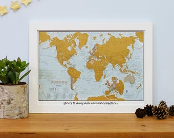 Scratch world maps etsy scratch the world travel edition map print valentines day home gift for gumiabroncs Images