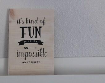 Fun Quote Decor
