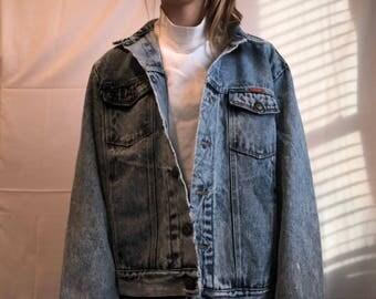 Vintage Lightwash Wrangler Jean Jacket