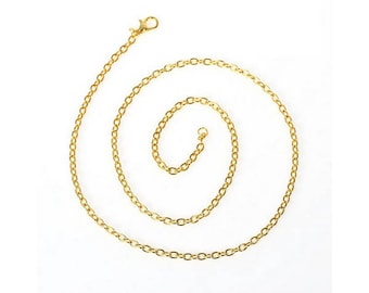 12 chain 40cm gold chain necklaces