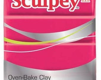 Clay Sculpey III red 57g