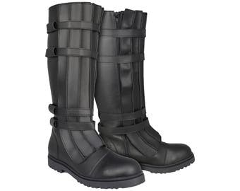 Star Wars Kylo Ren Style Boots with Straps - Brilliant Quality