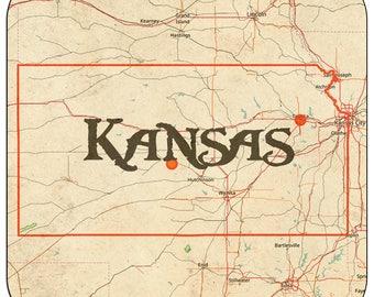 Kansas Coasters & Other Merchandise