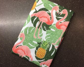 PRE-ORDER Flamingo Print 100% Cotton Tea Towel