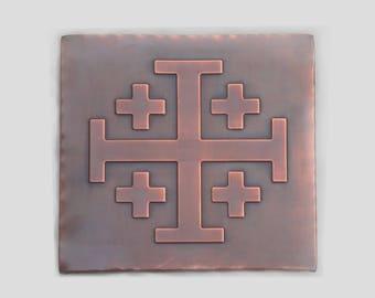 Jerusalem cross tile, cross symbol tile, cross tiles, tiles with cross, cross decors for kitchen