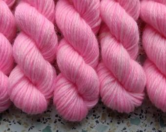 Lavender Brown Mini Skein Sock Yarn Merino/Nylon 4ply 10g - Harry Potter Inspired