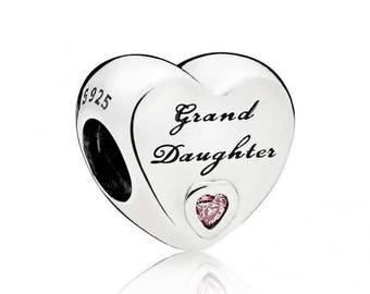 Pandora Grandaughter Love Charm