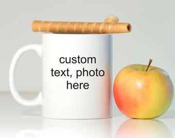 Custom mug, Personalized gift, Personalized mug, Custom gift, Custom Christmas gift, Custom Baptism gift, Custom Wedding gift, Custom photo
