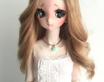 Blond Wig for Dollfie Dream 8 size Natural Hair