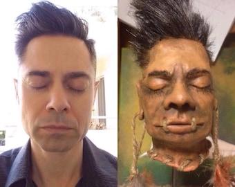 Custom Realistic Shrunken Head Replica! Have your own head shrunk or your ex-wife, neighbour, favourite politician to a Jivaro Tsantsa