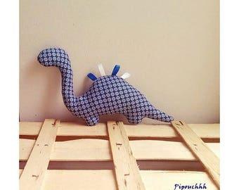 Decoration / toy dinosaur blue bubbles