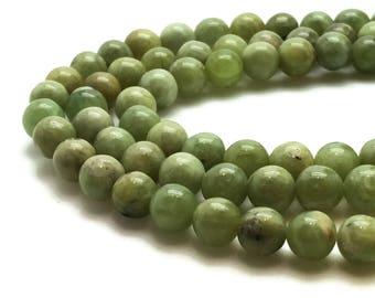 4mm Natural Peridot Beads Round 4mm Peridot 4mm Green Peridot Green Beads Green Gemstone Green 4mm Peridot Beads 4mm Mala Beads