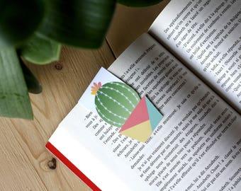 Cactus / / 1 magnetic bookmark