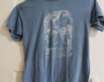 Panki Music! Blue Romantic 80's Vintage Shirt