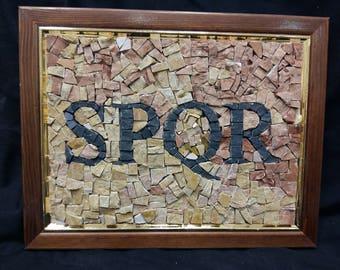 picture with Roman script SPQR