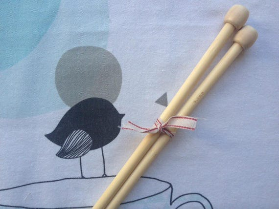 Bamboo - knitting number 9 needles