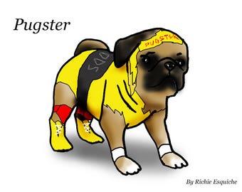Pugster by Richie Esquiche (sponsorship)