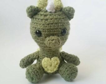 Fairy Dragon Amigurumi Crochet Plush toy