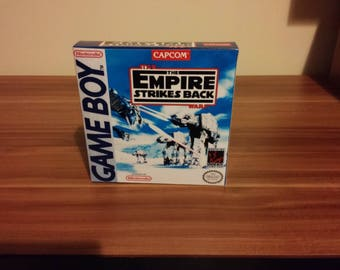 Game Boy Star Wars Empire Strikes Back - Repro Box with Insert NO GAME Included