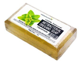 Antibacterial Oregano Soap, Natural, Strong Antiseptic. Antibacterial Fungal Skin / Nail Infections Athletes Foot Soap ALL Natural