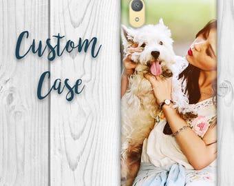 Sony Xperia XA1 Plus G3426 Case - Xperia XA1 Plus Custom Photo Case, Design Your Own Personalized Case, Monogrammed Phone