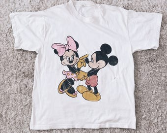 90's Minnie & Mickey Lover's Tee
