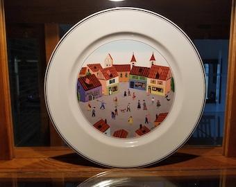 """Villeroy & Boch Naif 10.5"""" Dinner Plate"""